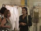 Nívea Stelmann e Lizandra Souto vão a shopping no Rio