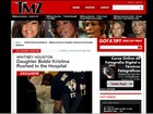 Filha de Whitney Houston é hospitalizada. Veja foto do site TMZ