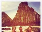 Ex-BBBs Mau Mau, Rodrigo e Cristiano viajam para Noronha