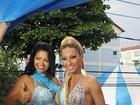 Valesca Popozuda é coroada musa de bloco carioca