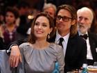 Que orgulho! Brad Pitt 'baba' por Angelina Jolie em evento