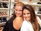 Filha grávida de Cristiana Oliveira defende a mãe no Twitter