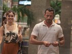 Só love! Malvino Salvador e Sophie Charlotte passeiam em shopping