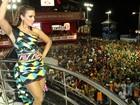 Ivete Sangalo elogia o próprio corpo no Carnaval de Salvador: 'Estou gostosa?'