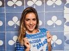 Monique Alfradique é escolhida como musa de bailes de carnaval do Rio