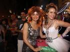 Leandra Leal e Nanda Costa se fantasiam de Madonna e Tina Turner