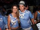 'Vim dar um beijo na Torloni', diz Marcelo Serrado em feijoada no Rio