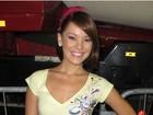 Geovanna Tominaga sai do 'Vídeo Show' e vai para o 'Mais Você'