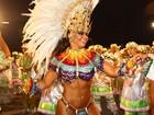 Viviane Araújo é eleita a musa da primeira noite de desfiles em São Paulo