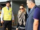 Jennifer Lopez desembarca no Rio de Janeiro