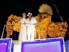 Famosos desfilam na Sapucaí na primeira noite do grupo especial do Rio