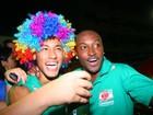 Depois de vitória do Santos, Neymar cai na folia em Salvador