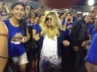 Gringas no samba: Jennifer Lopez e Fergie vão ao sambódromo do Rio