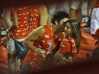 Cristiane Dias se recusa a falar sobre confusão com Thiago Rodrigues