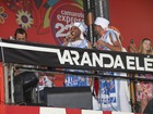 De volta à Bahia, Gilberto Gil anima seu camarote