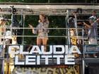 Claudia Leitte se apresenta no último dia do Carnaval de Salvador