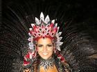 Renata Santos não é mais rainha de bateria da Mangueira