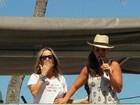 Ivete Sangalo e Claudia Leitte cantam juntas no 'Arrastão' de Salvador