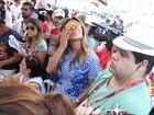 Rainha da Vila Isabel, Sabrina Sato acompanha apuração no Rio