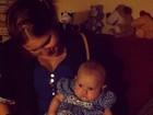 Vóvó coruja: Ana Moretzsohn posta foto de Carolinie Figueiredo com a filha