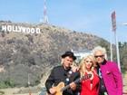 Superdecotada, Mayra Dias Gomes grava clipe com Supla em Hollywood