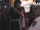 Vídeo mostra mulher acusando Chris Brown: 'Ele roubou meu celular'