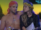 Ronaldo nega amassos em Renata e diz não ter ciúme de Rafa: 'Indiferente'