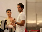 Giovanna Antonelli vai ao cinema com o marido
