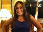 Susana Vieira comenta a final do 'BBB 12' em tempo real na redação do EGO