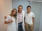Ex-BBB 'doutor Gê' ajuda Ronald e Milene a entrarem em forma
