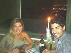 Ex-BBBs Adriana e Rodrigão comemoram 11 meses de namoro