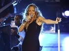 Mariah Carey faz primeiro show após nascimento dos gêmeos