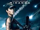 Rihanna aparece armada e com cabelo curtinho em cartaz de filme