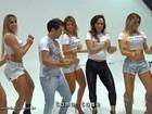 Cacau, Juju Salimeni e outras musas rebolam sensualmente em clipe