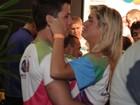 Gêmea do nado curte festival em clima de romance no Rio