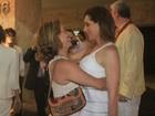 Christiane Torloni comemora aniversário com amigos famosos