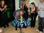 Marcos Paulo comemora seus 61 anos com festa em casa, no Rio