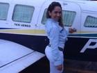 Tá podendo! Mulher Melão usa jatinho para shows em Manaus