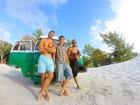 Veja fotos da kombi que levou Emilio, do 'BBB3', até o México