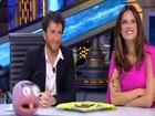 Grávida, Alessandra Ambrósio dança em programa de TV espanhol