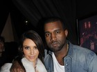 Kim Kardashian prestigia Kanye West na Paris Fashion Week