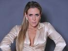 Joana Machado mostra pernão em ensaio para grife paulista