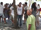 Malvino Salvador grava 'Fina Estampa' no Rio