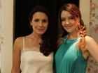 Juliana Knust e Larissa Maciel vão a evento no Rio