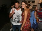 Malvino Salvador e Sophie Charlotte vão ao teatro no Rio