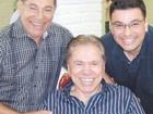 Aos 81 anos, Silvio Santos muda o visual e assume os fios brancos