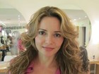 De volta ao Brasil, Rita Guedes muda o visual e avisa: 'Quero uma vilã'