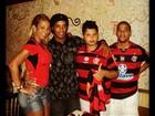 Ronaldinho Gaúcho encontra Valesca Popozuda depois de vaias