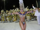 Viviane Araújo vira rainha da Porto da Pedra e Quitéria Chagas, da Vila