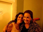 Após show de Zélia Duncan, Claudia Jimenez tieta cantora